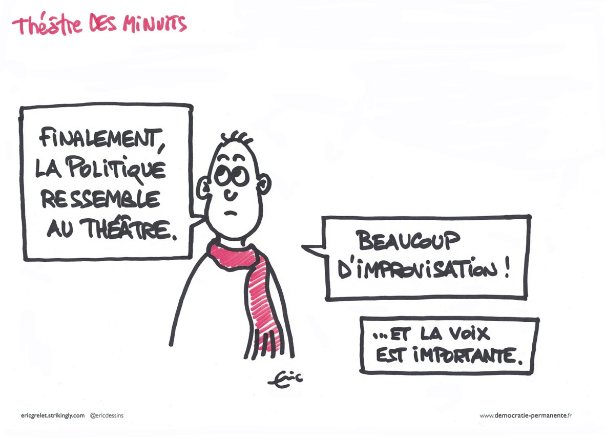 Caricature @ericdessins - 1