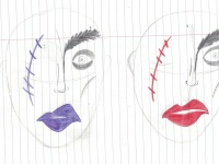 les minuits prince masqué maquillage