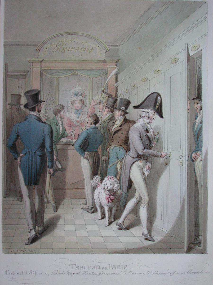 Cabinet d'Aisance, Palais Royal