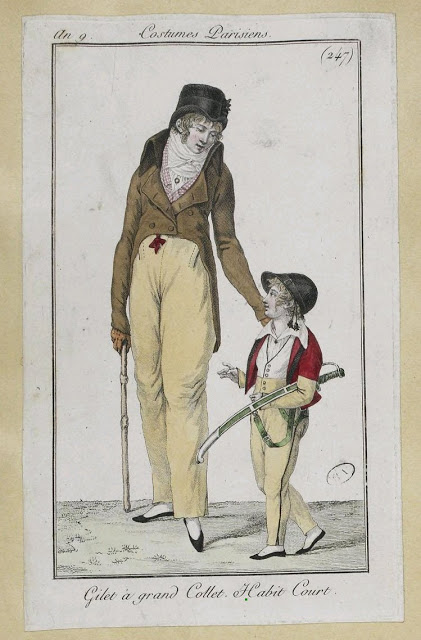 Homme et enfant