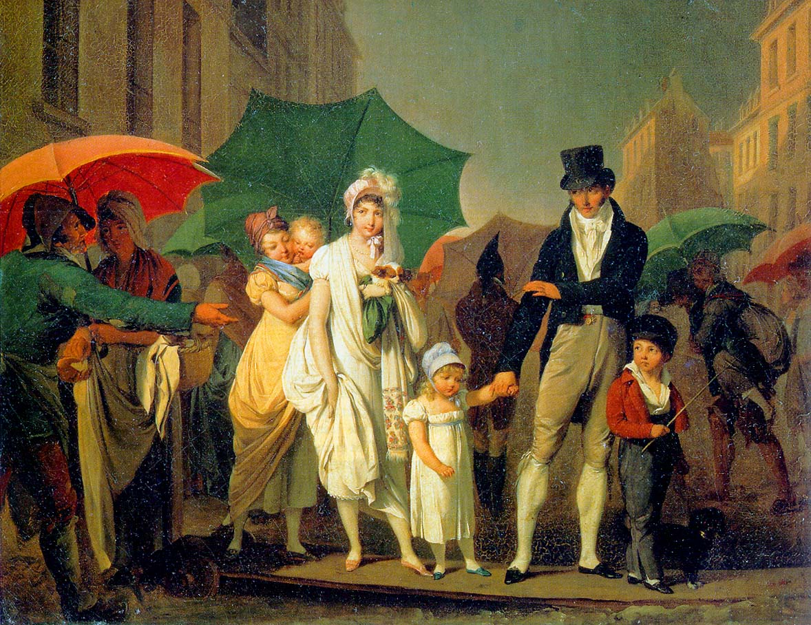 boilly l'averse vers 1805