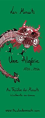 Affiche Une Algérie, 1830-1954